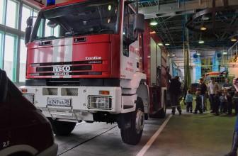 Фотоотчет: пожарная часть в Ангарске в октябре
