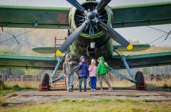 Фотоотчет: экскурсия на аэродром 25 сентября